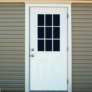 36 Prehung Single 9 Lite Door