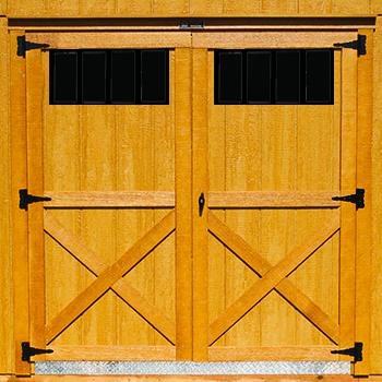 72 Double 4 Lite Barn Door