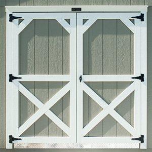 72 Double Barn Doors
