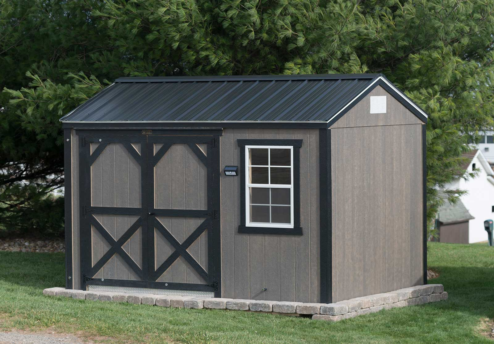 Painted Smart shed