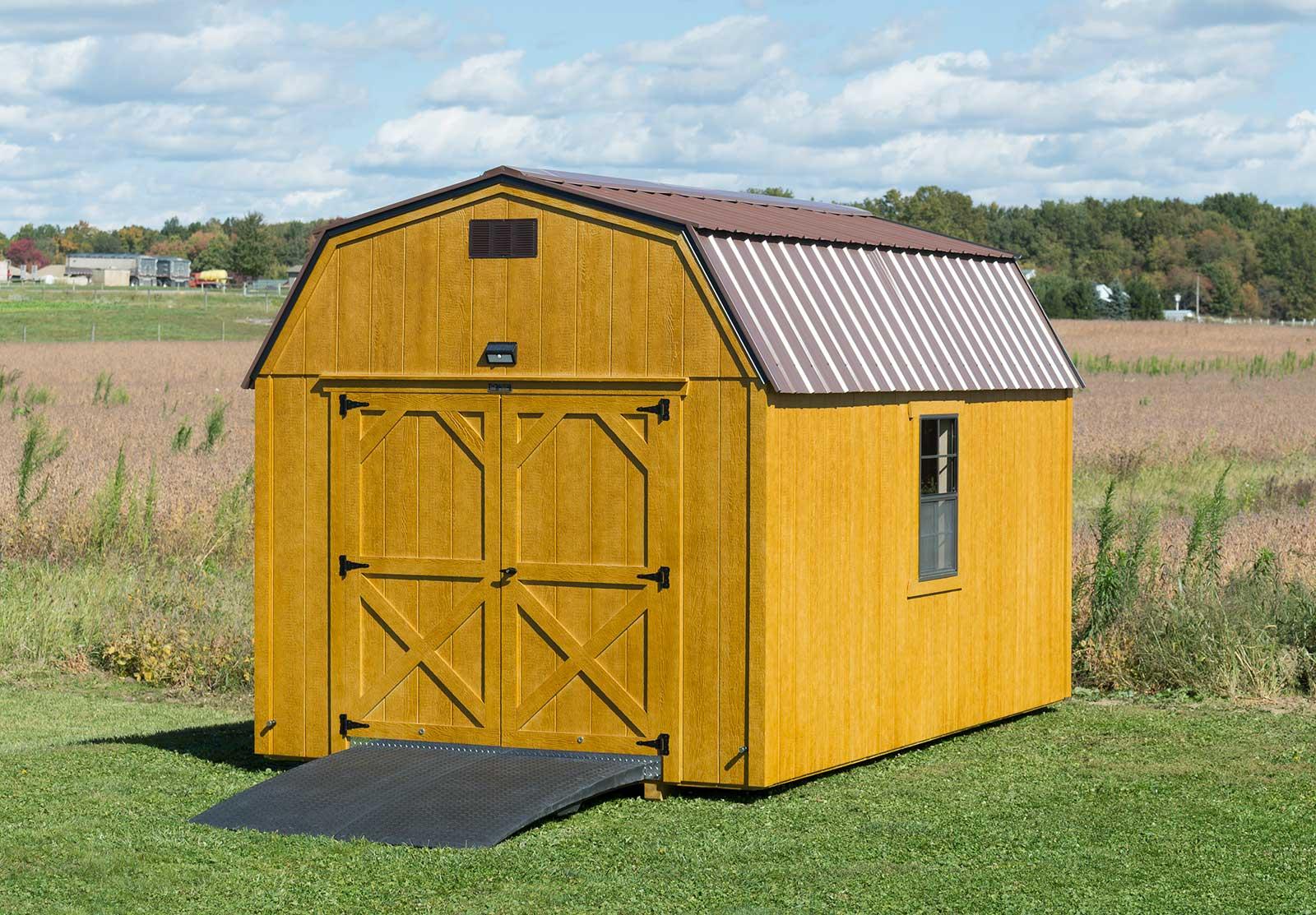 Stained Double Barn Door + 24x36 Window