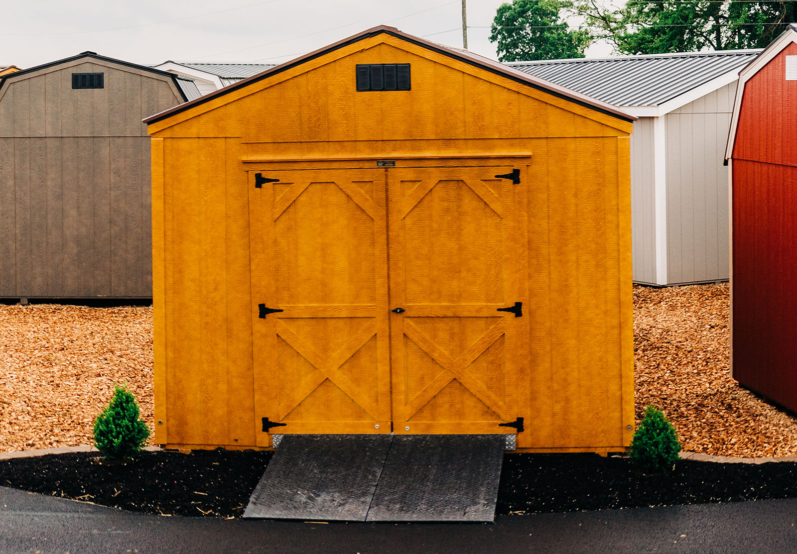 Shed Style Roof