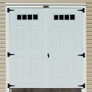 """72"""" Double 4-Lite Door"""