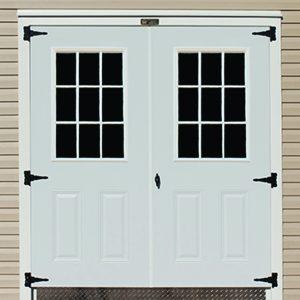 """72"""" Double 9-Lite Door"""