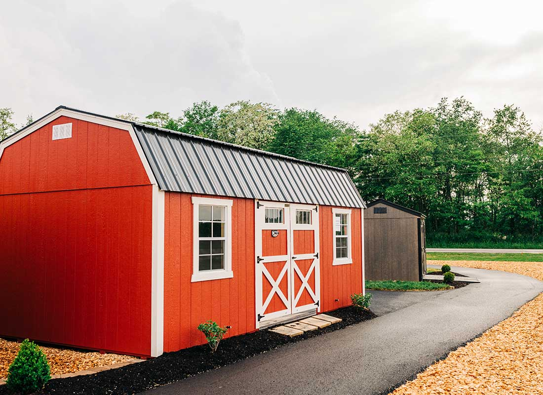 Not your average shed lot