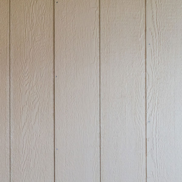 Paneling on walls and ceiling