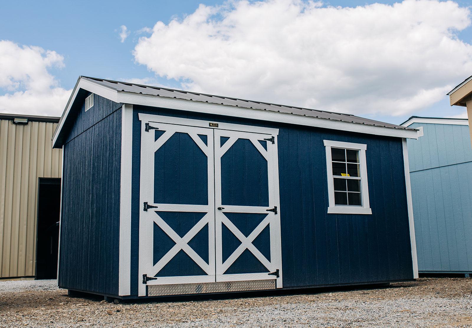 Painted Barn Door + 24x36 Window