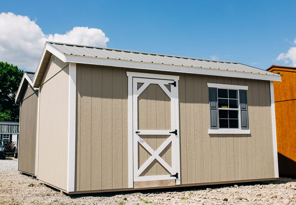 """Shed Style roof w/ 6"""" Overhang"""