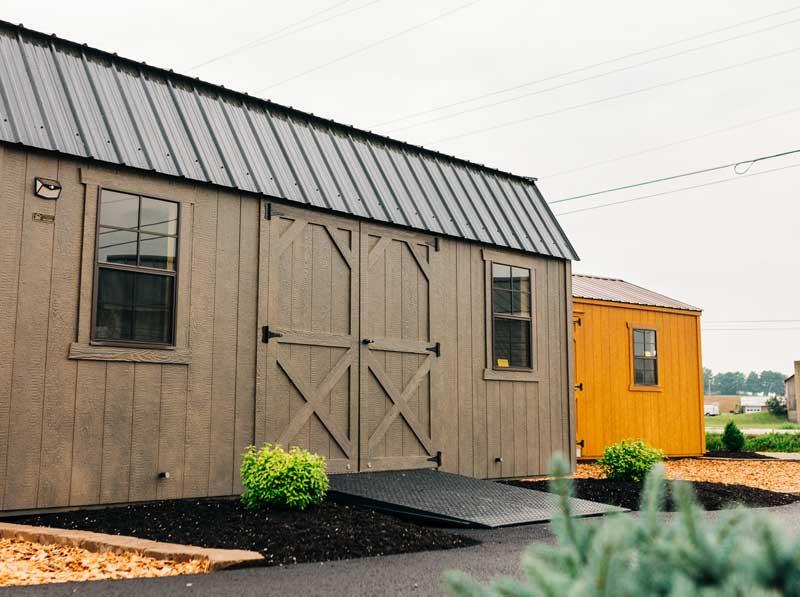 Visit our shed sales center